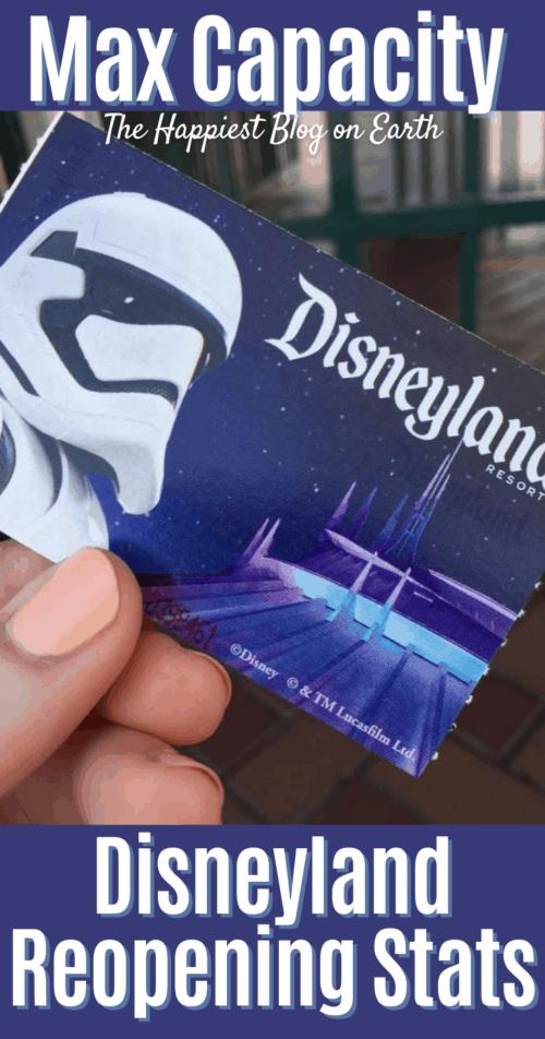 Disneyland Capacity