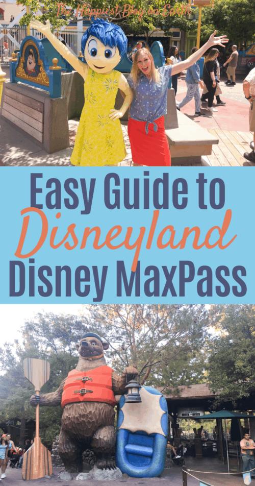 Easy Disneyland MaxPass