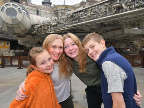 Family star Wars land
