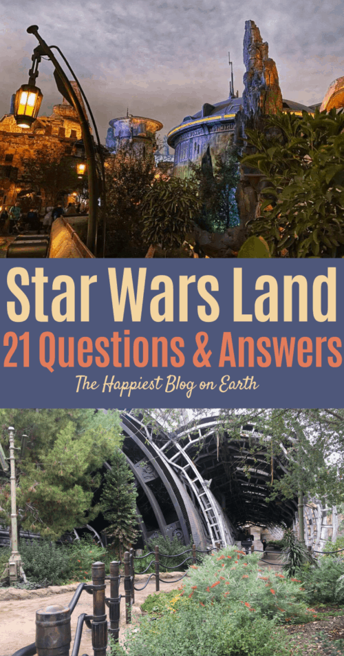 Star Wars Land Guide