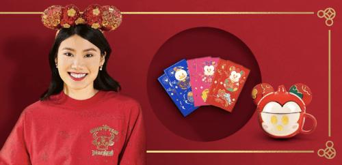 Disney Lunar New Year ears 2021