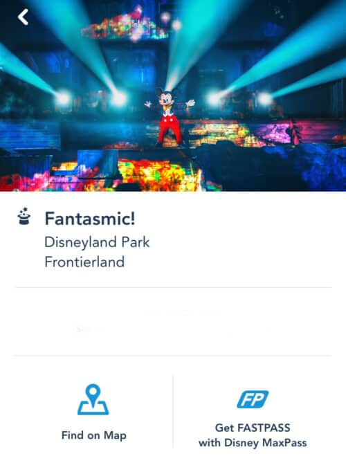 Fantasmic MaxPass