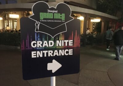 Disneyland Grad Nite 2020