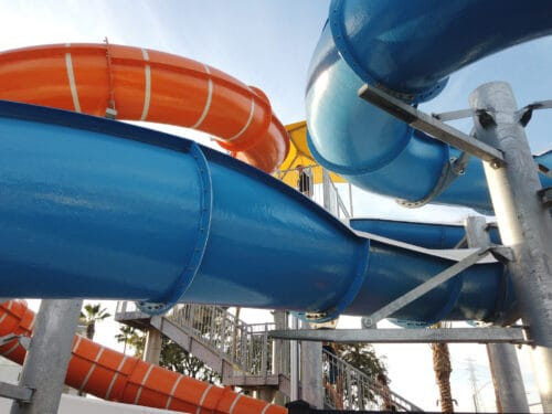 Water slides Cambria