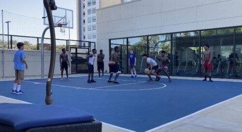 Cambria basketball