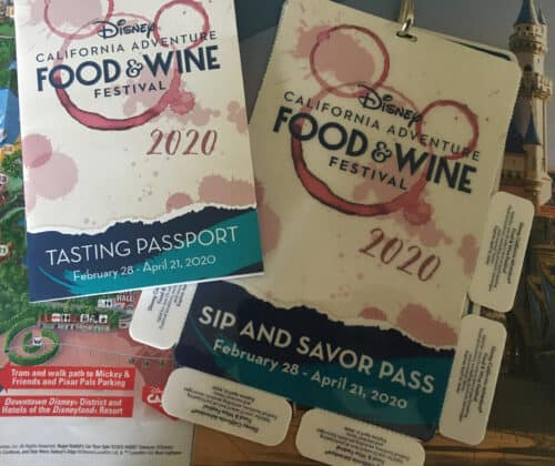 Food and wine sip and savor pass