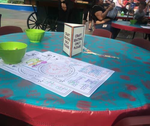 Food wine kids craft
