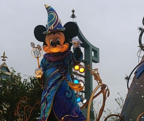 Mickey Mouse parade