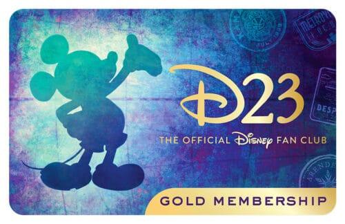 D23 Gold Membership