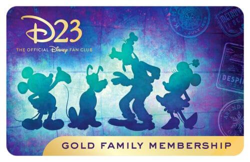 D23 Gold Family Membership