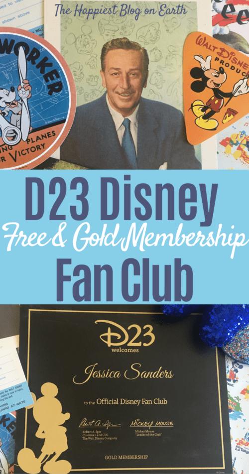 D23 Disney Fan Club