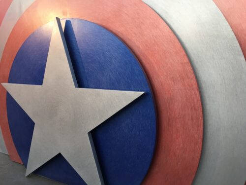 Disneyland Captain America