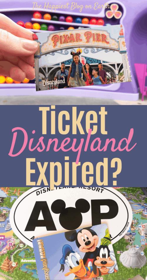 Disneyland ticket coronavirus