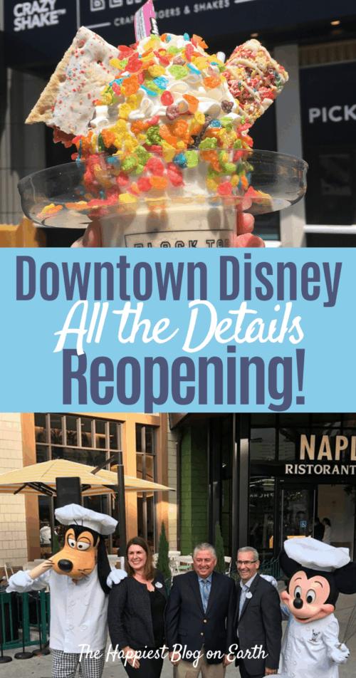Downtown Disney Reopening