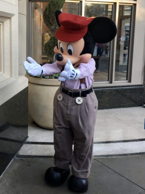 Mickey Mouse Buena Vista Street