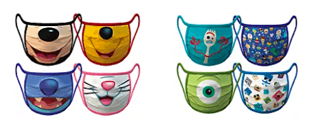 Disney Store Cloth Face Masks