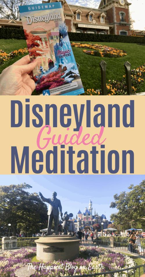 Disneyland guided meditation