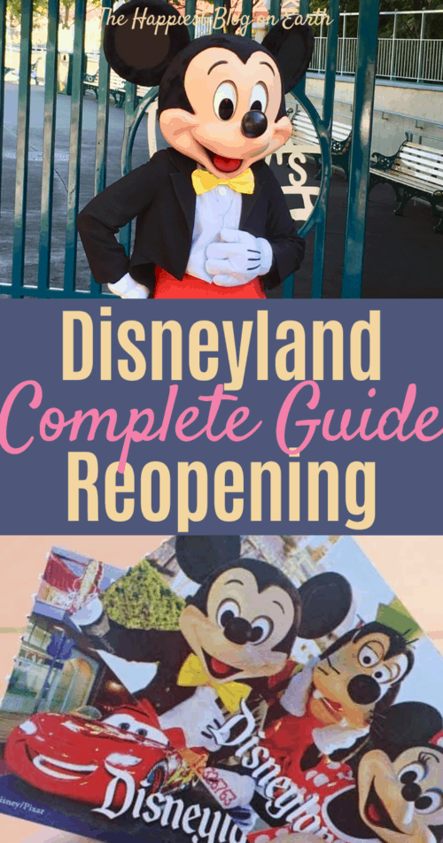 Disneyland reopening guide