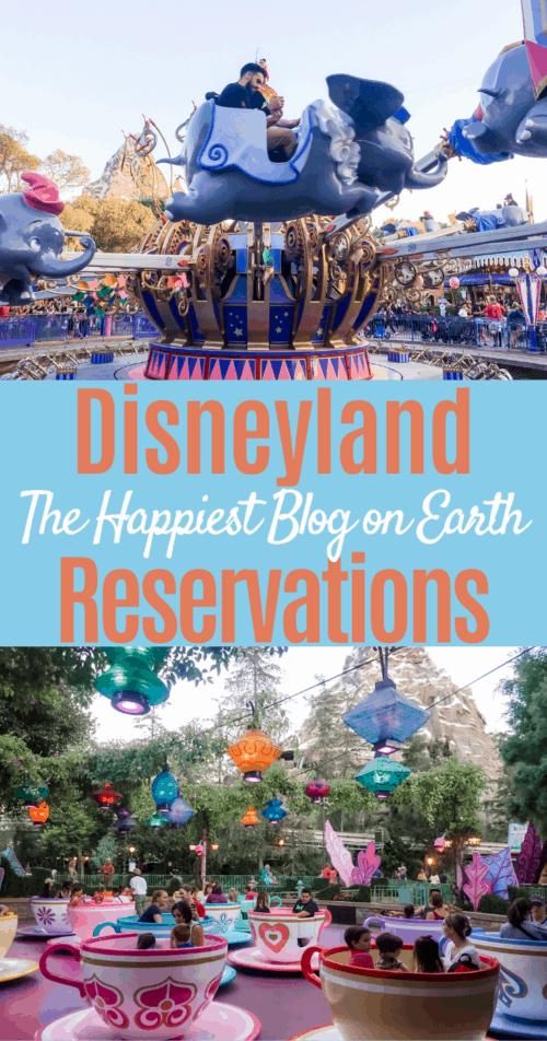 Disneyland Reservation System