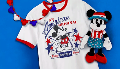 Americana Disney Merch