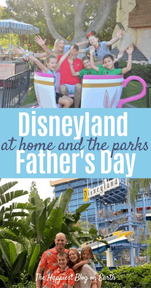 Disneyland Fathers Day