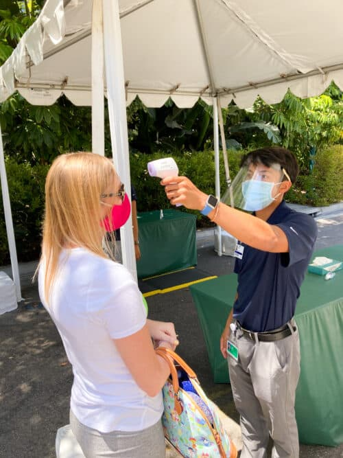 Disneyland Health screening