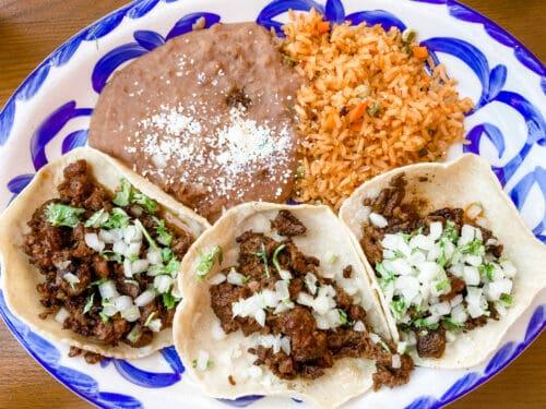 Tortilla jos street tacos
