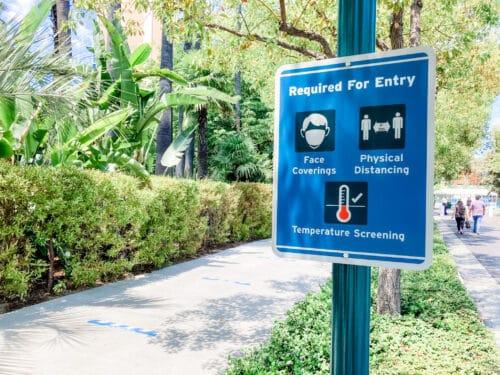 masks required Disneyland
