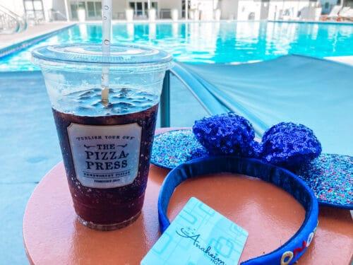 Anaheim Hotel Pool