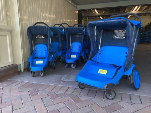 Disneyland Double Stroller