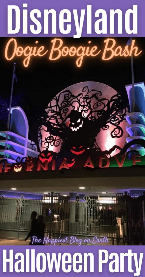 Disneyland Oogie BoogieBash Halloween party 1