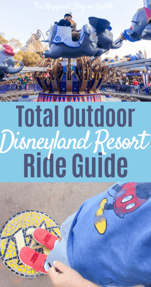 Disneylands outdoor rides