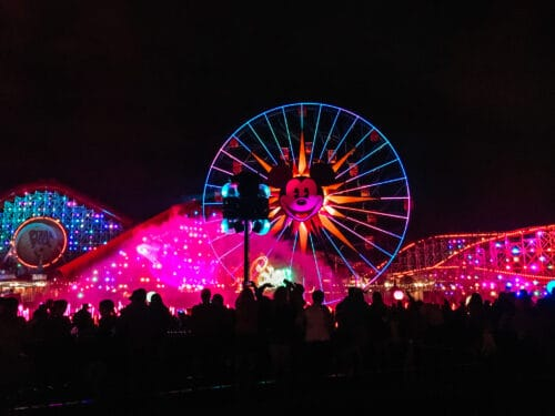 World of Color night
