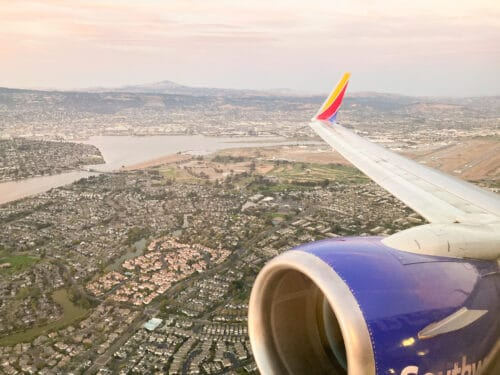 SWA Oakland to Disneyland