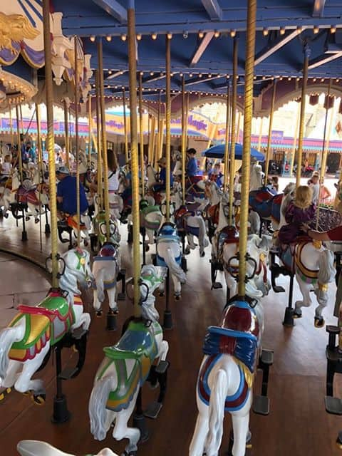 Walt Disney World carousel