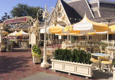 Best Disneyland Outdoor Dining