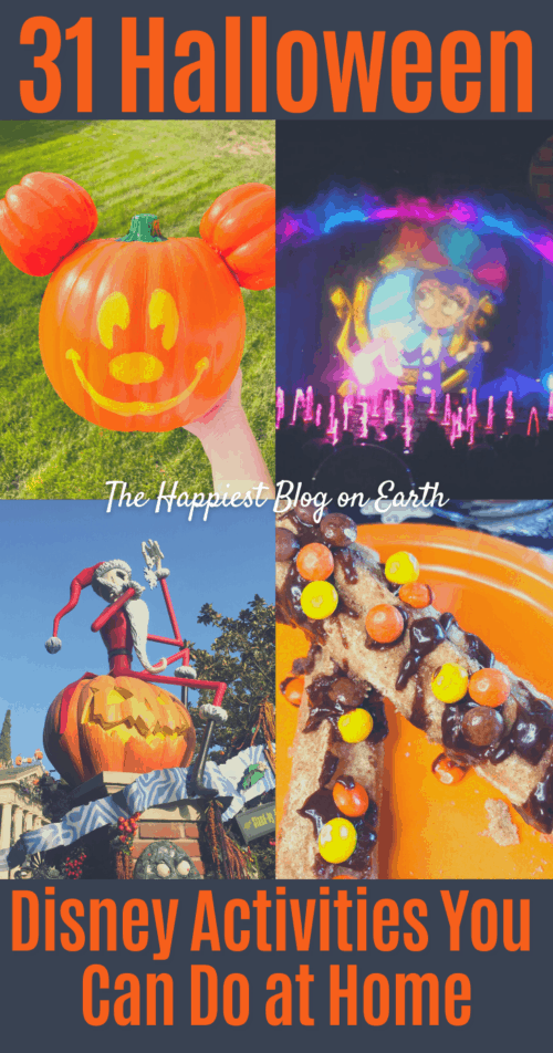 31 Disney Halloween Activities