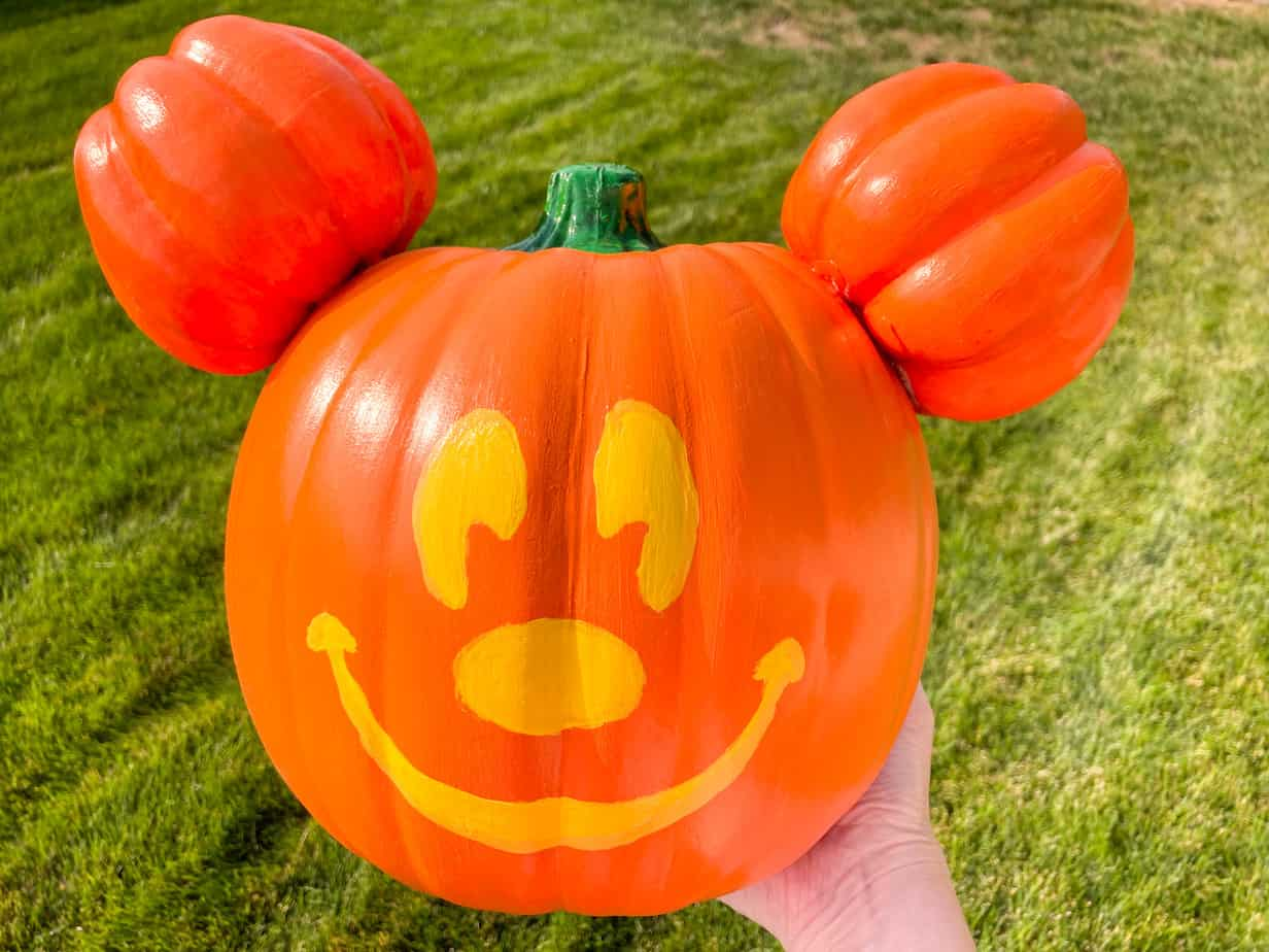 Diy Disneyland Mickey Jack O Lantern The Happiest Blog On Earth