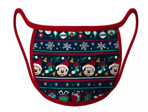 Disney christmas holiday face mask