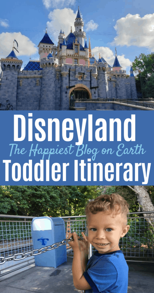 Disneyland Toddler Itinerary