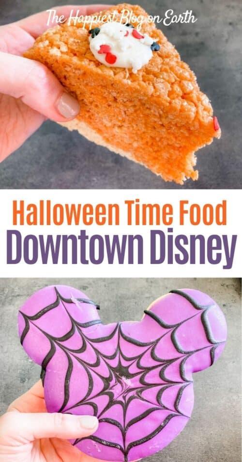 Halloween Food Downtown Disney