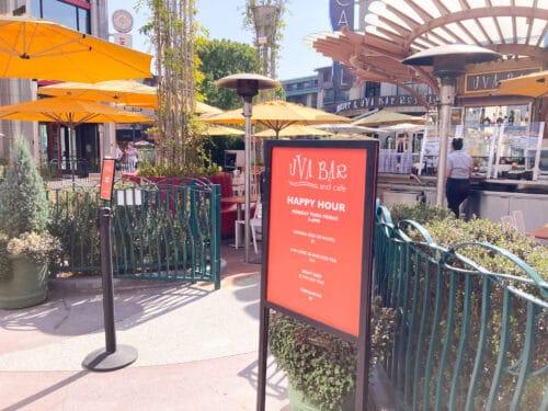 Uva Bar Happy Hour Disney