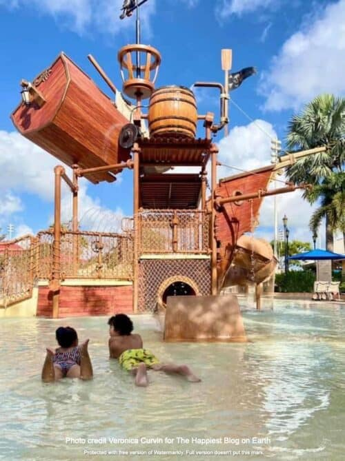 Caribbean Beach splash pad