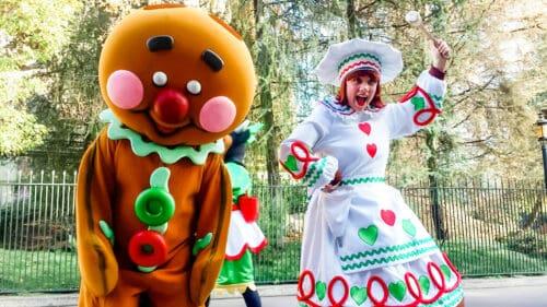 Gingerbread man parade