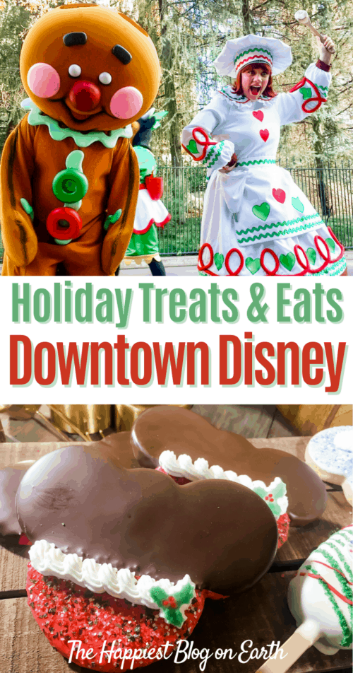 Holiday Food Downtown Disney