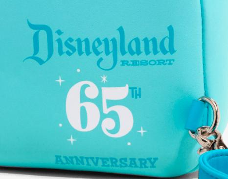 Loungefly Disneyland 65th Anniversary detials