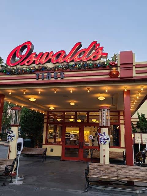Oswalds California Adventure