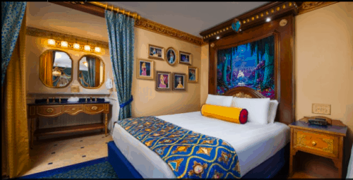 Port Orleans Riverside Royal Guest Room