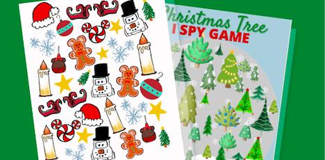 Disneyland Holiday I Spy Game