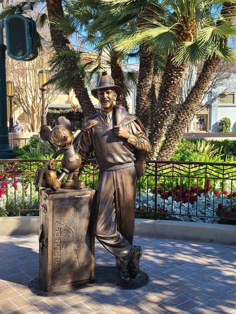 Storytellers Statue DCA
